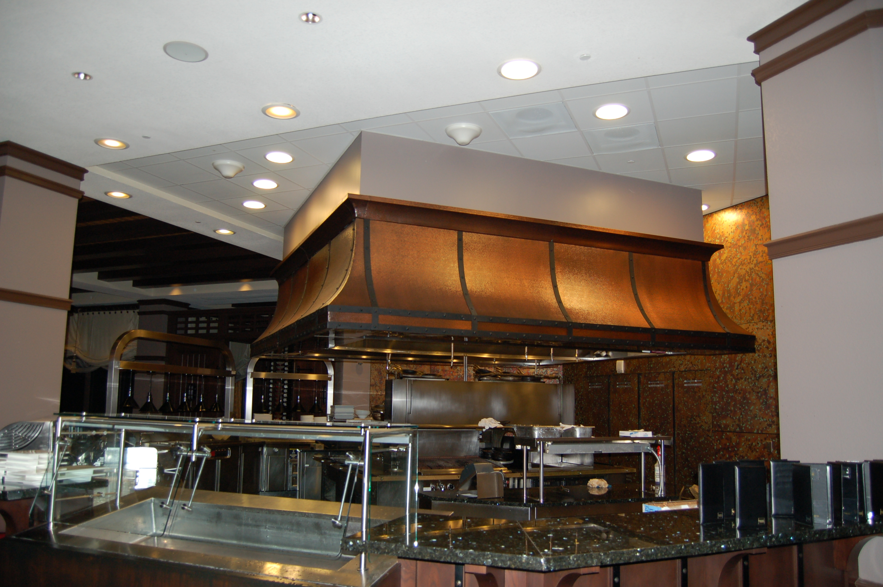 metal commercial with plate countertop steel laminate kitchen materials of counter island countertops stainless full sheet top bar size sink prefab