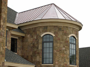 Residential Copper Turret
